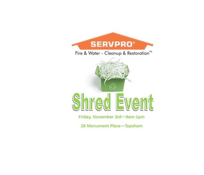 SHRED EVENT - 11.3 from 9am-1pm