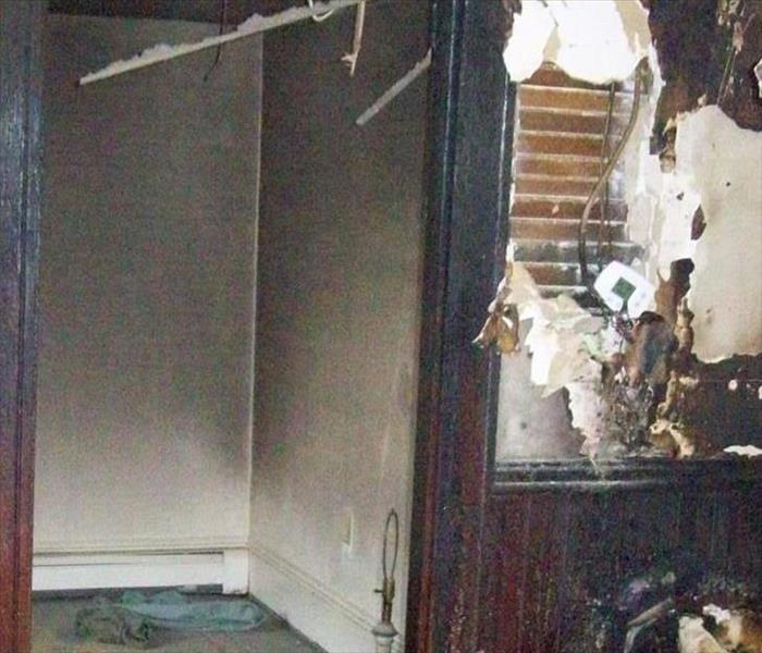 Fire Damage SERVPRO of Bath/Brunswick is here to help with your Smoke and Soot Cleanup